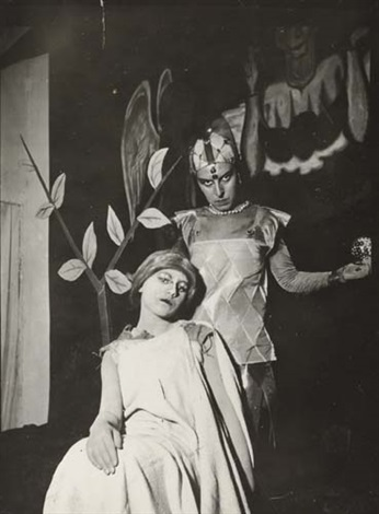 untitled self portrait with friend by claude cahun