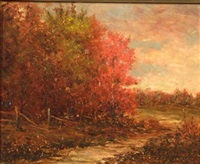 fall foliage by r.r. andrews