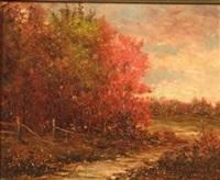 fall foliage by r.r. andrews
