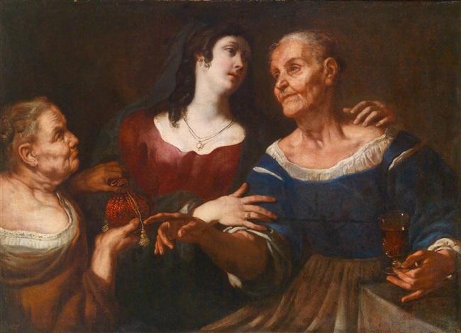 Frau alte junge oder Alte Frau