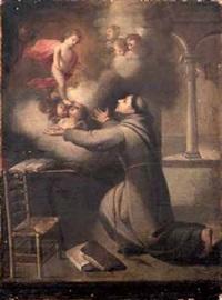 aparición del niño a san antonio by juan simon gutierrez