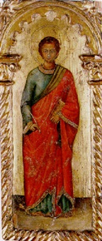 saint john the evangelist by jacobello del fiore