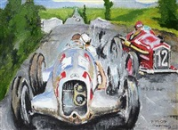 rennen am nürburgring by p. forster