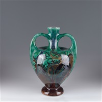 große henkelvase by rozenburg ceramics (co.)