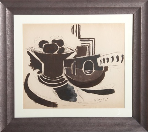 le mandoline from the portfolio espace by georges braque