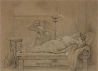 cupid and psyche by jean-auguste-dominique ingres