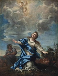 the martyrdom of saint martina of rome by filippo lauri