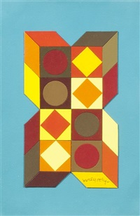 tridinor by victor vasarely