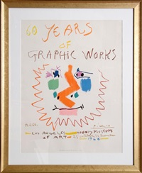 60 years of graphic works: los angeles county museum by pablo picasso