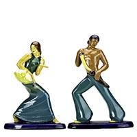 spanish dancers (pair) by elizabeth anderson