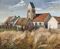 l'église de bois d'arcy by marcel dyf