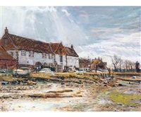low tide, burnham overy by margaret glass