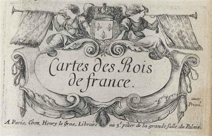 cartes des rois de france set of 40 works jeu de reynommées set of 53 works géographie set of 53 works by stefano della bella