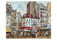 paris landscape (+2 others; 3 works) by takuji seki