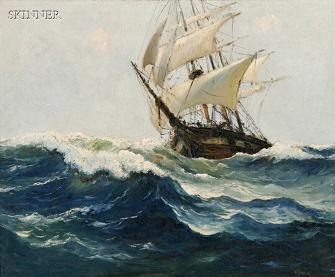 ship at sea by anthony thieme