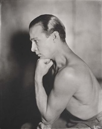 rudolph valentino by james abbe