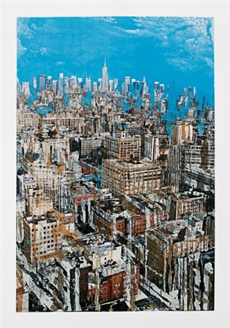 Liquid Sky, New York by Gottfried Salzmann on artnet