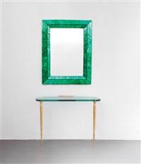 specchiera verde smeraldo by roberto giulio rida
