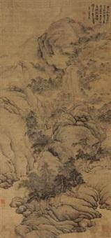 万壑松冈 (landscape) by fa ruozhen