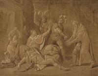 kriemhilds trauer um den toten siegfried by conrad martin metz