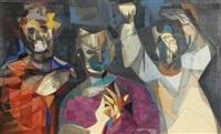 three figures 9 by john f. leonard