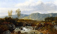 near capel curig by john wright oakes