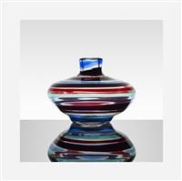 fasce orizzontali vase by fulvio bianconi