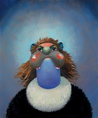 jean louis' ex-wife by george condo