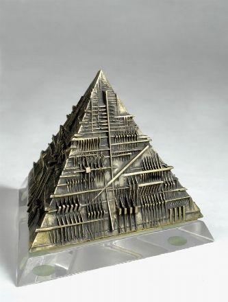piramide studio by arnaldo pomodoro