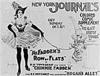 new york journal's colored comic supplement by archie gunn