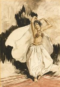 anitra's dance by arthur rackham