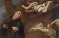 santo in estasi by correggio