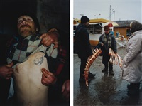 untitled (from case history-8) (2 works) by boris mikhailov