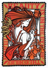 ink nouveau orange by inkie
