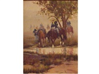 a cavalry man's respite by robert wagoner