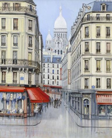 montmartre boulevard rochehouard by h rolf rafflewski