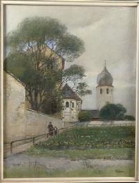 kirche auf der fraueninsel am chiemsee by rudolf ribarz