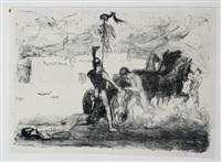 achill (illustrationen zur ilias) (set of 15) by max slevogt