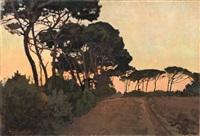 pineta di san rossore by llewelyn lloyd