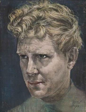 portrait of brian dawling by austin osman spare
