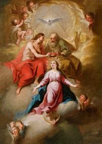 umkreis krönung der maria by johann evangelist holzer