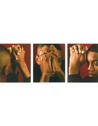 eugene (triptych) by dawoud bey