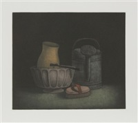 watering jug and brush by tomoe yokoi