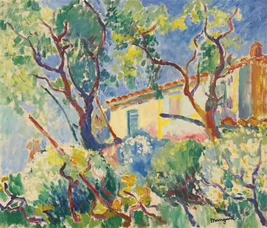 la maison de signac les cigales saint tropez by henri charles manguin