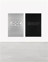 idol/idiot (in 2 parts) by steven parrino