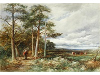 the edge of the moor - bolton woods. wharfedale by david bates