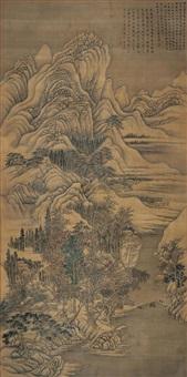 山水 (landscape) by xu daoshou