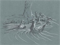 ducks by peter howson
