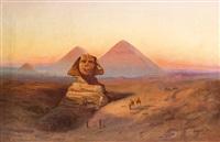 sphinx und pyramiden von gizeh by samuel lawson booth