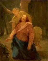 le christ soutenu par un ange by nicolas françois octave tassaert